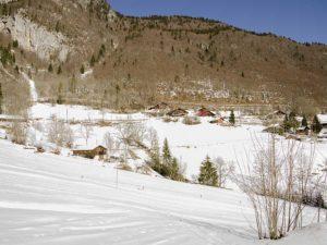 Ski piste Vouvry, La Piste